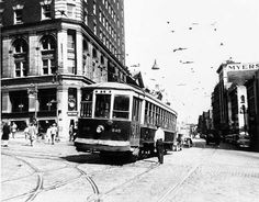 Last Albany Trolley AUG 1946