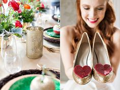 Wizard of Oz Wedding Ideas - makeup by me Joy David-Tilberg! Click on photo to see full story and credits!