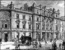 Century depiction of the Bow Street Magistrates' Court, to which the Bow Street Runners were attached 19th Century London, 18th Century, London Drawing, London History, British History, American History, London Police, Georgian Era, Victorian Era