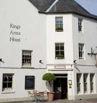 The King's Arms - Hotel and Restaurant, Woodstock - bedrooms