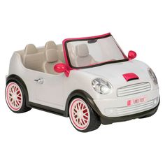 Lori Dolls Go Everywhere! Convertible Car for Mini Dolls - Silver : Target Toys For Girls, Kids Toys, Mini American Girl Dolls, American Girl Car, Poupées Our Generation, Small Luxury Cars, Baby Alive, Doll Accessories, Barbie Dolls