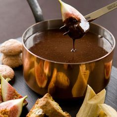 Chocolate Fondue Recipe - How to Make Chocolate Fondue - Delish