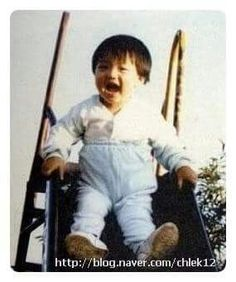 Baby KJJ. Cute! ~_~