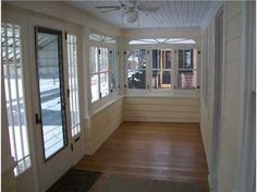 Old house enclosed front porches love this enclosed for Small enclosed deck ideas