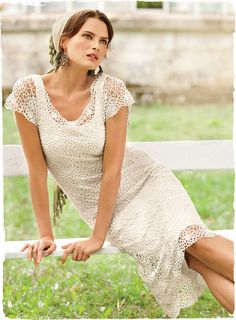 Starflower Pima cotton dress - I love it... SO beautiful (in white and black!)! Reminds me of the dress the lady is wearing in the Dolce $ Gabbana ads, huh, @Micaiah Thomas ? And the name of it is a combination of two of my nicknames!