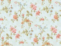 Interior Place - Pink Olive LN7521 Geranium Multi Floral Wallpaper, $22.95 (http://www.interiorplace.com/pink-olive-ln7521-geranium-multi-floral-wallpaper/)