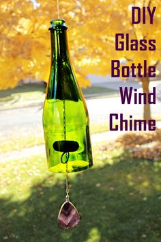 50 Beautiful Wine Bottle Crafts to Upcycle Your Old Wine Bottles By upcycling your old wine bottles into candelabras, wind chimes, and all sorts of crafts, you save tons by not purchasing store-bought decor. Liquor Bottle Crafts, Old Wine Bottles, Diy Bottle, Glass Bottles, Bottle Art, Wine Bottle Windchimes, Paint Wine Bottles, Beer Bottle, Painted Bottles