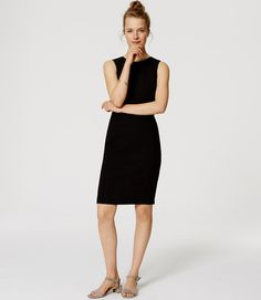 Primary Image of Paneled Sheath Dress
