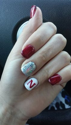My Husker nails! GBR!