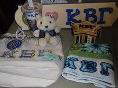 Kappa Beta Gamma Sorority Crafts