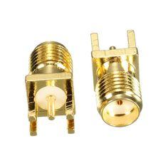$2.28 (Buy here: https://alitems.com/g/1e8d114494ebda23ff8b16525dc3e8/?i=5&ulp=https%3A%2F%2Fwww.aliexpress.com%2Fitem%2FWholesale-10Pcs-bag-1-6mm-SMA-Female-Jack-Solder-Edge-PCB-Straight-Mount-Gold-Plated-RF%2F32729268756.html ) Wholesale 10Pcs/bag 1.6mm SMA Female Jack Solder Edge PCB Straight Mount Gold Plated RF Coaxial Connector Adapter Plug for just $2.28
