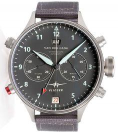 Van Der Gang | 20044B | Steel | Watch database watchtime.com