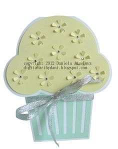 FREE SVG DXF GSD MUFFIN cup cake card happy birthday