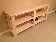 Entertainment Center by DBWoodWorx on Etsy
