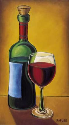 Tangletown Fine Art Red Wine by Will Rafuse Fine Art Giclee Print on Gallery Wrap Canvas, 27 Wine Painting, Wine Art, In Vino Veritas, Paint Party, Kitchen Art, Painting Inspiration, Red Wine, White Wine, Canvas Art