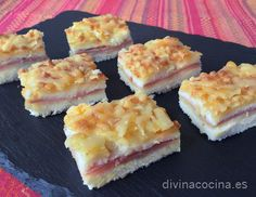 Pastel de pan de molde » Divina CocinaRecetas fáciles, cocina andaluza y del mundo. » Divina Cocina