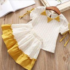 Kids Dress Wear, Kids Gown, Baby Girl Frocks, Frocks For Girls, Baby Frocks Designs, Kids Frocks Design, Stylish Dresses For Girls, Toddler Girl Dresses, Baby Girl Frock Design