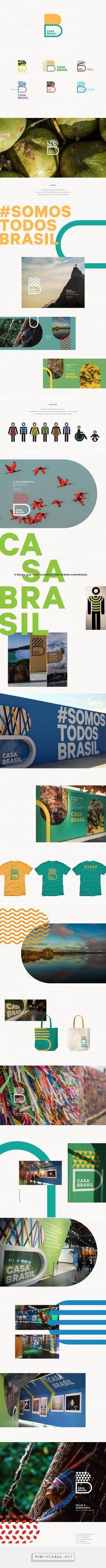 Casa Brasil on Behance - created on - Casa Brasil on Behance – created on Les images impressionnantes de Tout les co - Web Design, Logo Design, Brand Identity Design, Graphic Design Branding, Design Packaging, Stationery Design, Label Design, Brochure Design, Package Design