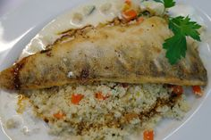 """Leckere Fischgerichte im Waldgasthof Buchenhain - """"Eine gute Küche ist das Fundament allen Glücks."""" (A. Escoffier) - In einem der gemütlichen Restaurants in München Süd verschenkt man gerne besondere Glücksmomente. Genießen Sie einfach die gute Küche in München im Waldgasthof Buchenhain."""