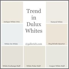 What S Trending In Dulux Paint Colours