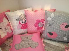 Zboží prodejce Na-niti / Zboží Throw Pillows, Reading, Books, Baby Room Girls, Bebe, Petite Fille, Creative, Toss Pillows, Libros