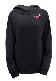 Ladies Pink Jeep Logo Hooded Sweatshirt at Amazon Women's Clothing store: