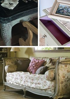 Beautiful furniture painted by Annie Sloan, the creator of Chalk Paint!