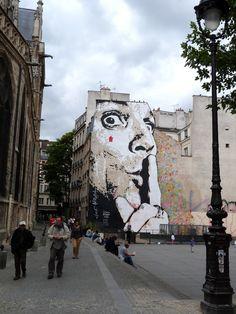 Paris - Jef Aerosol #street_art #jef_aerosol #paris  I love this- went to Paris just to see it!