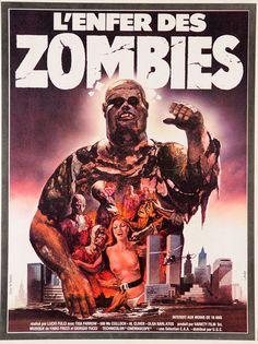 "Original Vintage French Horror Movie Poster ""L'Enfer Des Zombies"" 1979 | eBay"