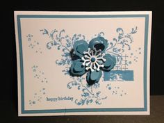 My Creative Corner!: A Timeless Textures and Botanical Builders Birthday Card