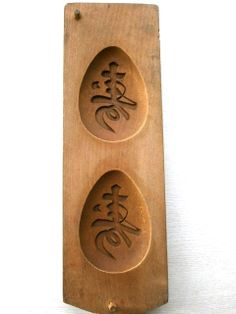 Vintage Japanese Kashigata Mold by VintageFromJapan on Etsy, $55.00