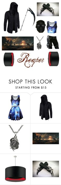 """Apocalypse: The Reaper"" by patstemon ❤ liked on Polyvore featuring Five and Diamond, Carolina Glamour Collection and Heathfield & Co."