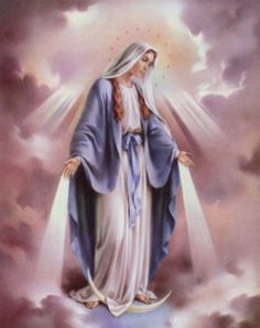 Beautiful Mother Mary.