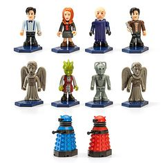 Decorate your desk with your favorite (and terrifying!) Doctor Who character! With the Doctor Who Blind Box Figurines ($5), each one's a surprise!