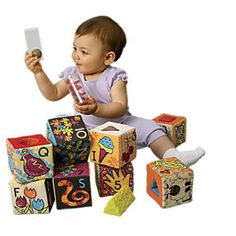 ABC Block Party Soft Baby Blocks