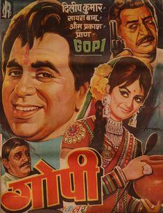 vintage bollywood filmplakat