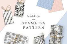 MALINA 20 Seamless Pattern by AgataCreate on @creativemarket