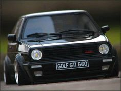 Double take - its a scale model VW Mk2 G60