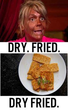 Dry Fried Tofu!