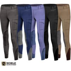Noble Outfitters Ladies Balancing Riding Tights