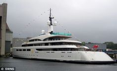 Britain's richest woman splashes out £100million on 96-metre yacht - the biggest…