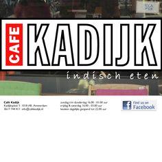 Café Kadijk - Kadijksplein 5 - Cozy Inodnesian food