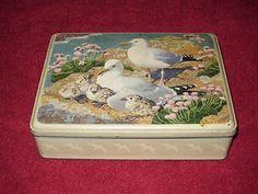 Vintage Biscuit Tin (1956) | eBay