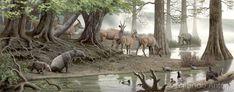 (18) @mdanuz/Zbrush / Twitter Epoch, Prehistoric, The Past, Spain, Camping, Horses, Zbrush, Illustration, Animals