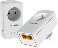 [CATALOGUE GÉNÉRAL 2015] Pack de 2 CPL 500 nano avec prise 2 ports: En un clin d'oeil, créez une connexion réseau rapide, sécurisée et fiable, dans les pièces de votre choix. Installation rapide et facile, aucune configuration requise. 2 ports réseaux pour connecter votre TV et votre BOX. Pack muni de prises filtrées. Idéal pour visionner les contenus HD et jouer en réseau. RÉF. XAVB5622-100FRS http://www.exertisbanquemagnetique.fr/info-marque/netgear