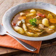 Mijoté de poulet, pommes de terre et carottes