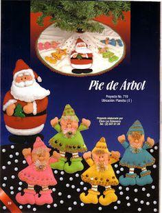 Album Archive - 193 Natal Pano Lency - Creando Ideas n. Christmas Holidays, Christmas Ornaments, Book Crafts, Craft Books, Felt, Album, Holiday Decor, Creando Ideas, Google