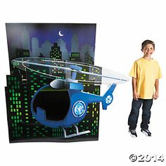 Agents of Truth 3D Stand-Up, Cardboard Cutouts, Party Decorations, Party Supplies - Oriental Trading