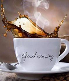 Good Morning Good Night, Good Morning Wishes, Good Morning Images, Good Morning Quotes, Good Morning With Coffee, Coffee Is Life, I Love Coffee, Coffee Art, Coffee Break