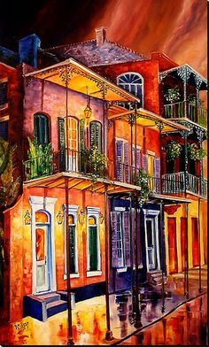Walk into the French Quarter